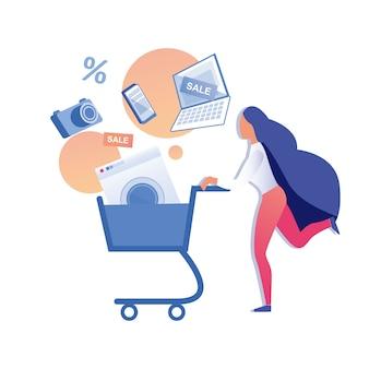 Sale offer buy electronics digital goods