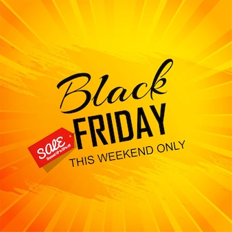 Sale poster of black friday card backgroun