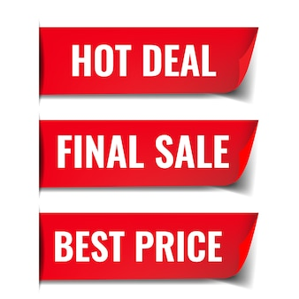 Sale poster with white background