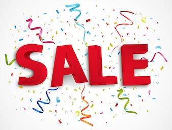Sale promotion background