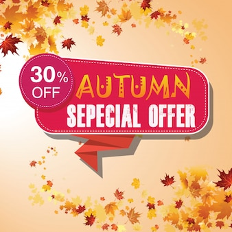 Sale sepecial autumn