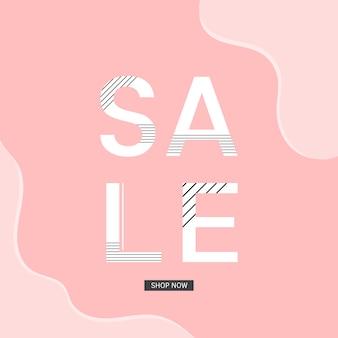 Sale shop now announcement board vector