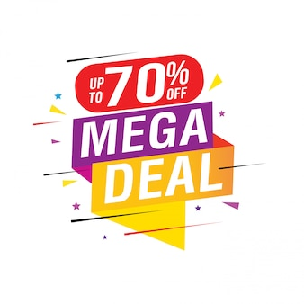 Sale and special offer banner