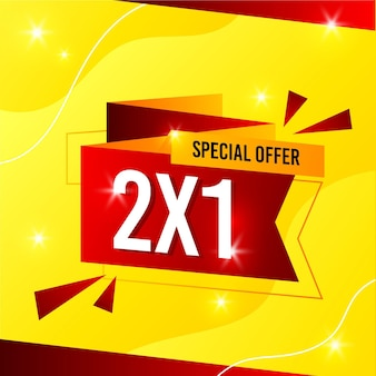 Sale special offer banner