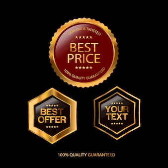 Sale, special offer and price badge design