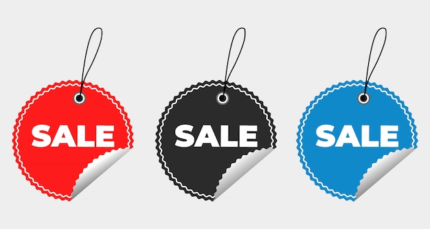 Sale special offer and price tags