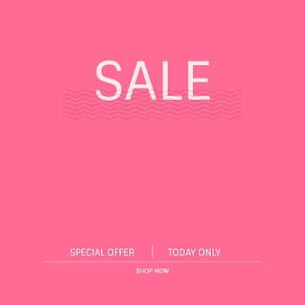 Sale special offer promotion sign vector