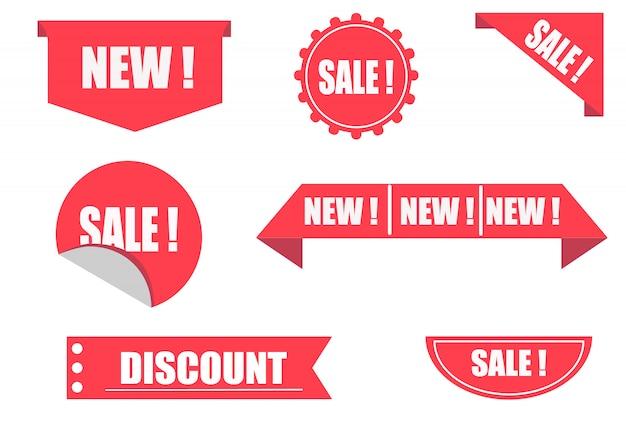 Sale in store. discount label design. price sticker.