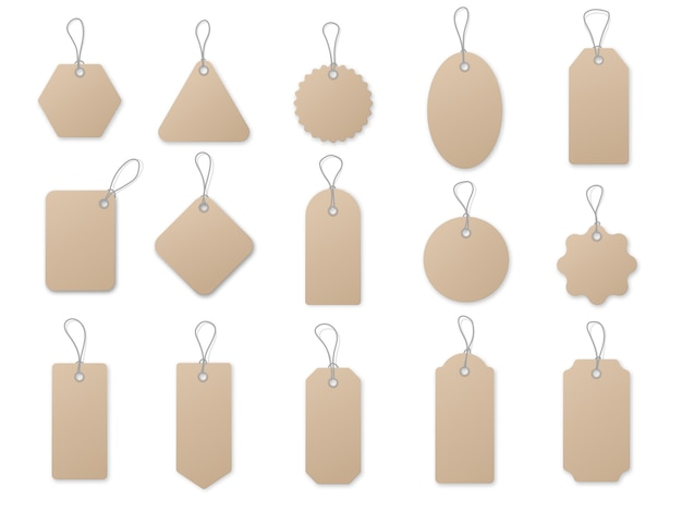Sale tag and labels