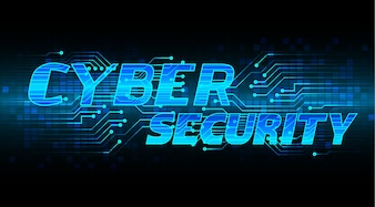 Sale technology banner for cyber security