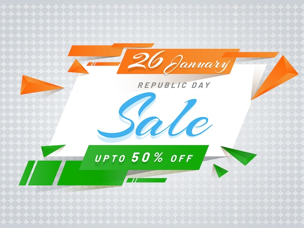 Sale template or poster design