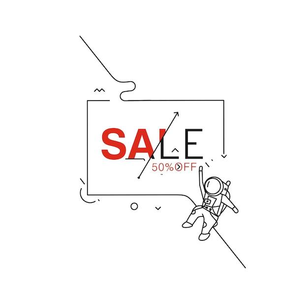 Продажа текста из элемента дизайна вектор. используйте для современного дизайна, обложки, плаката, шаблона, брошюры, украшенного, флаера, баннера.