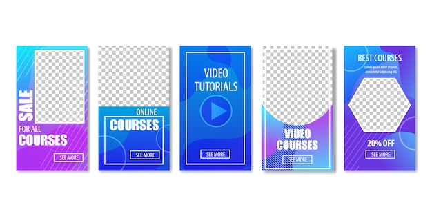 Sale for video courses