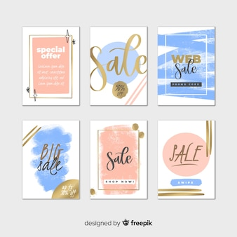 Sale web banner collection