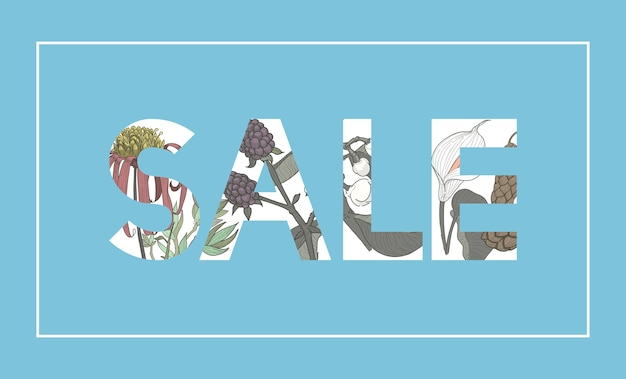 Продажа word botanic pattern background