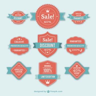 Sales badges