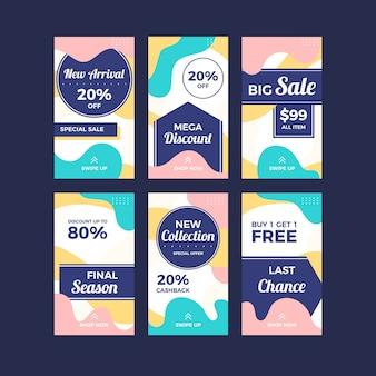 Коллекция рассказов о продажах instagram