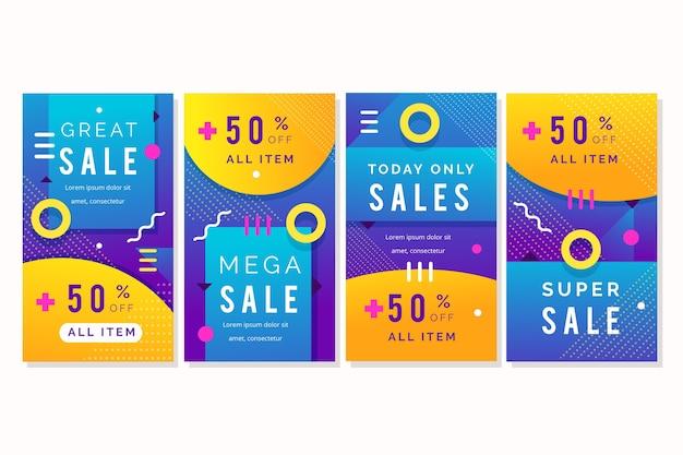 Sales instagram stories collection