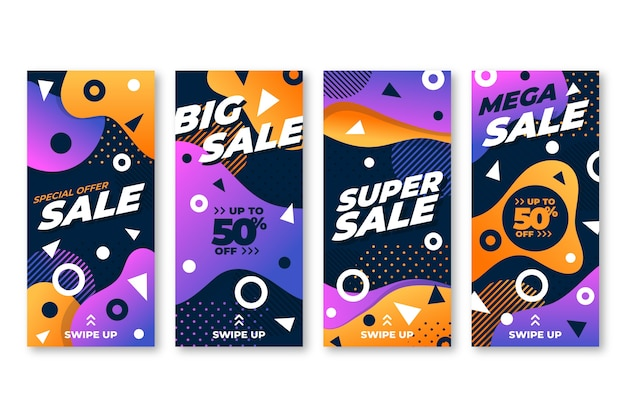 Sales instagram stories collection
