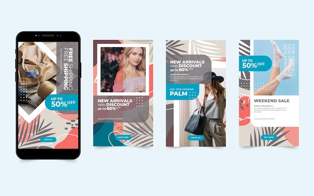 Sales on mobile style