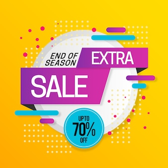 Sales promotion with extra sale