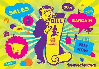 Sales Vector Graphics