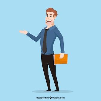 Salesman concept
