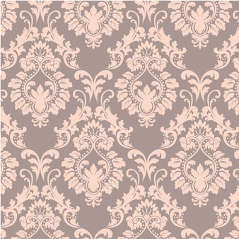 Salmon ornamental pattern background