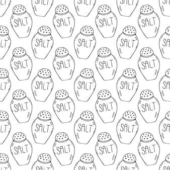 Salt seamless pattern