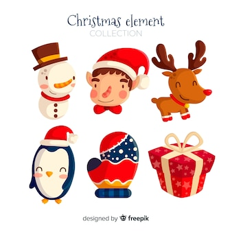Sample of christmas elements
