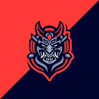 Логотип samurai devil