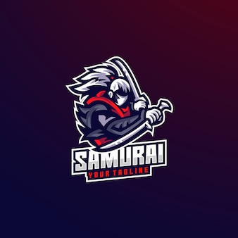 Samurai fight man sword man