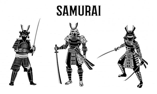 Samurai warrior of japan