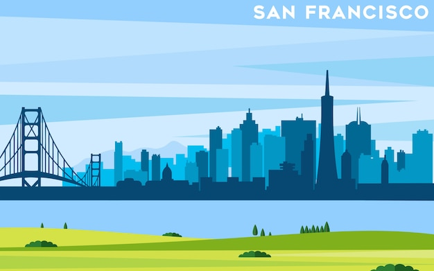 San francisco background