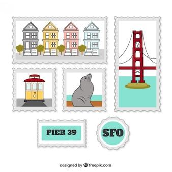 샌프란시스코 우표