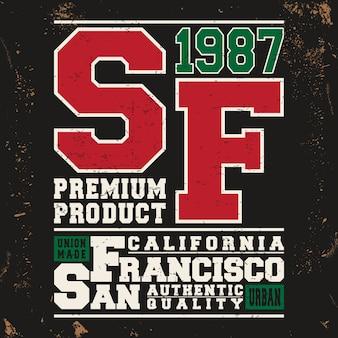 샌프란시스코 빈티지 스탬프