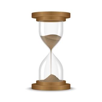 Sand hourglass clock