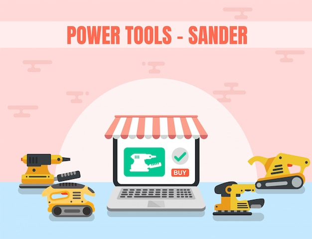 Sander power tool woodworking online shop