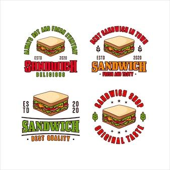 サンドイッチのロゴ