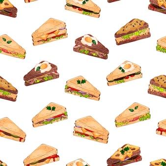 Sandwich pattern
