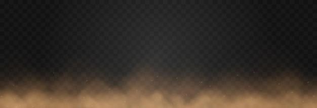 모래 먼지 구름