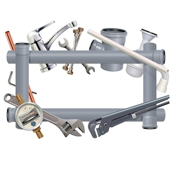Sanitary engineering frame