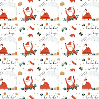 Santa claus background collection