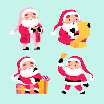 サンタクロースのキャラクターコレクション