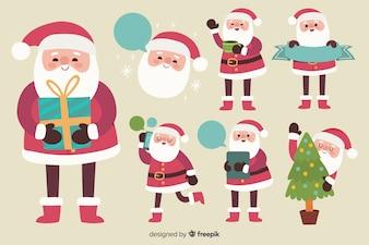 Santa claus character pack