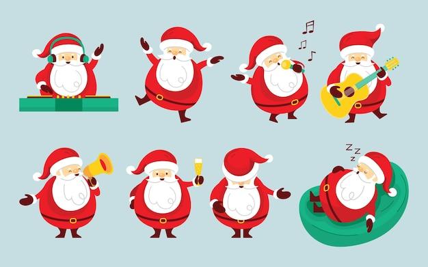 산타 클로스 문자 세트, 파티 개념