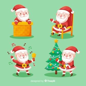 Santa claus collection