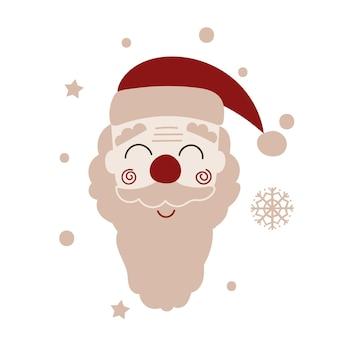 Santa claus design. vector illustration.