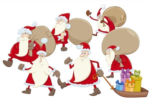 サンタクロースグループ漫画