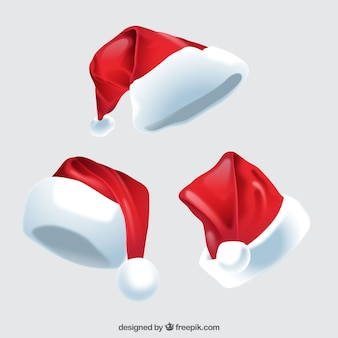 Santa claus hat pack